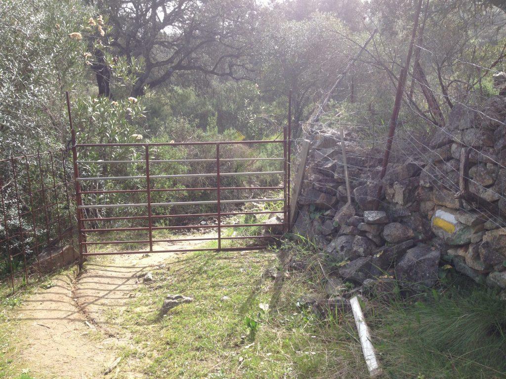 Sendero circular El Castillo de las Guardas