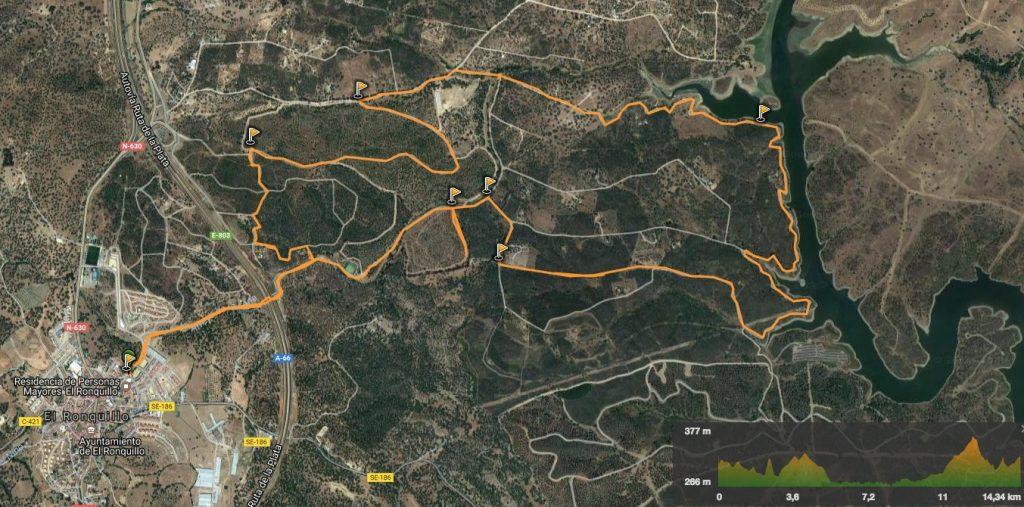 Ruta de los Brezales en El Ronquillo