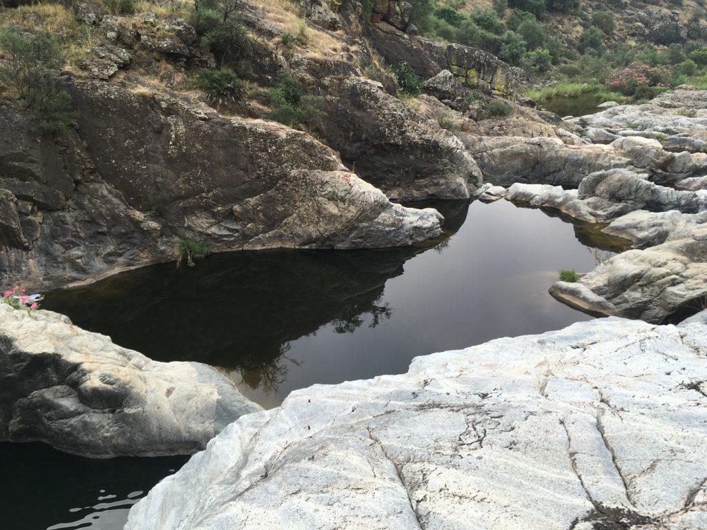 Baño en Las Calderas de Villaverde del Río