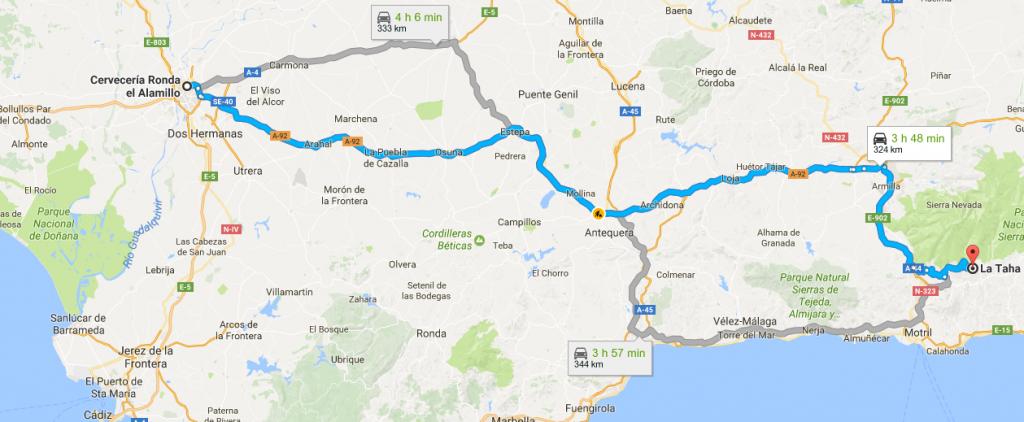 Excursión a la Alpujarra granadina