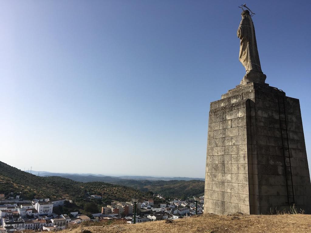 Vista desde el Castillo de Constantina