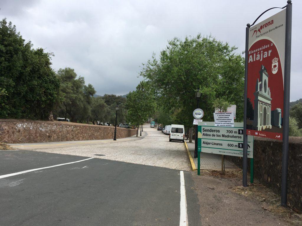 Ruta Circular en Alajar