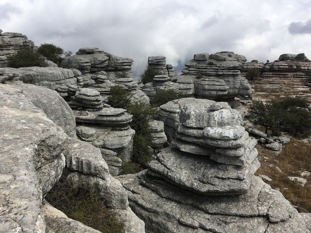 Formaciones de El Torcal de Antequera