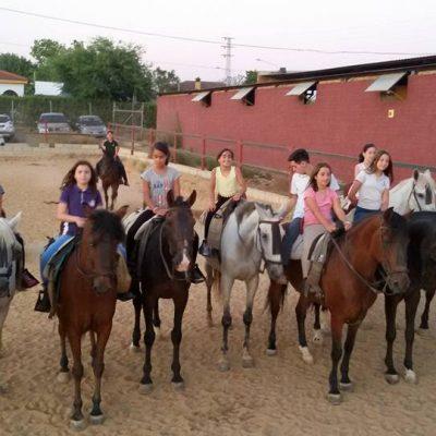caballos y el guadiamar