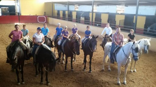 los caballos y el guadiamar