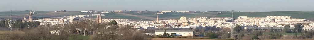 La campiña y las once torres de Écija