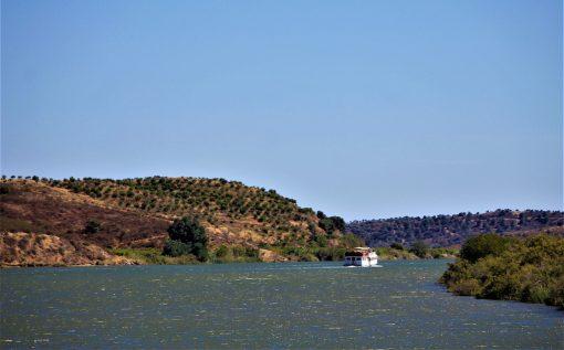 Crucero fluvial por el Guadiana