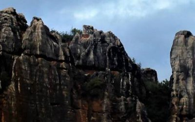 Escalada en el Cerro del Hierro