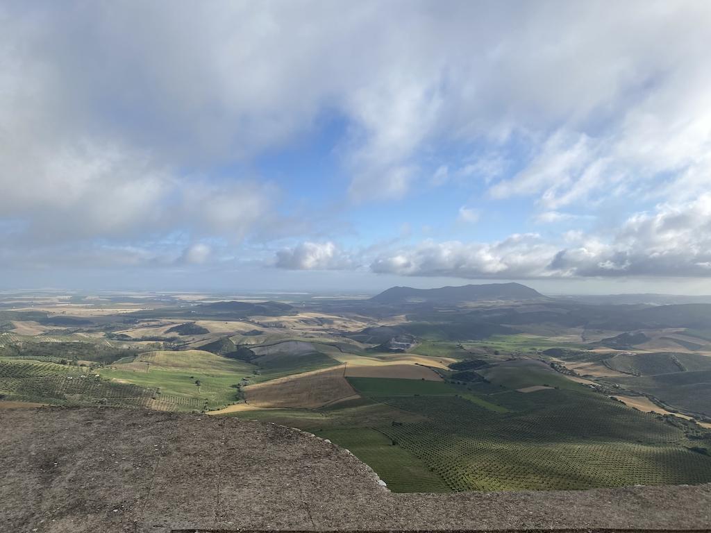 Vista desde el Castillo de Cote