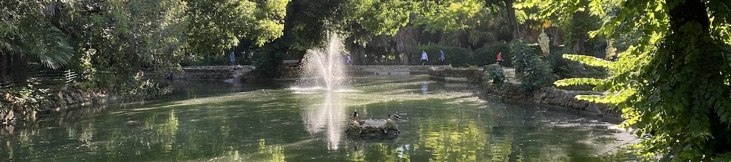 puesta en forma y paseos por Sevilla