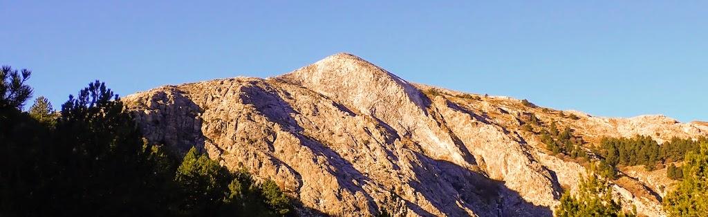 Subida al Pico de la Maroma